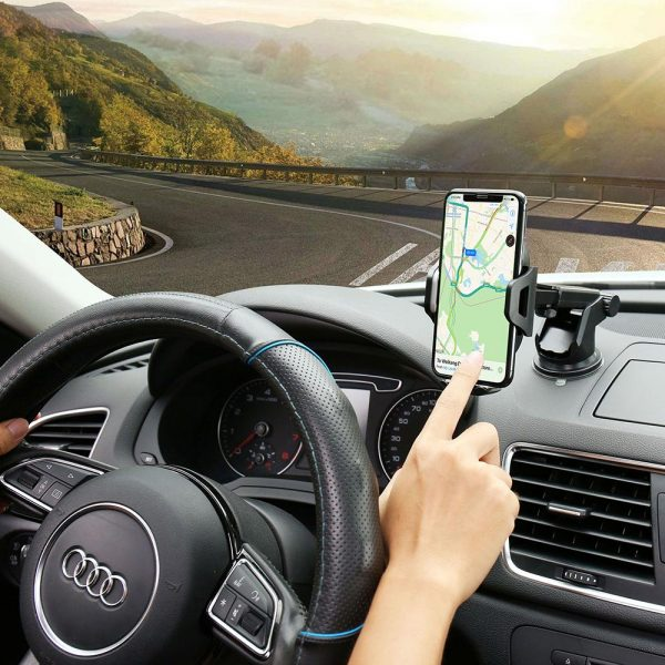 Phone Stand For Car Powerful Grip 3
