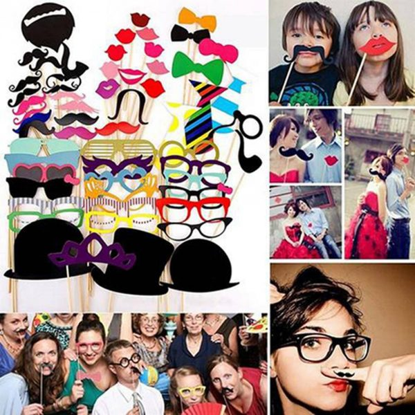 Photo Booth Props Party Photo Decor 1