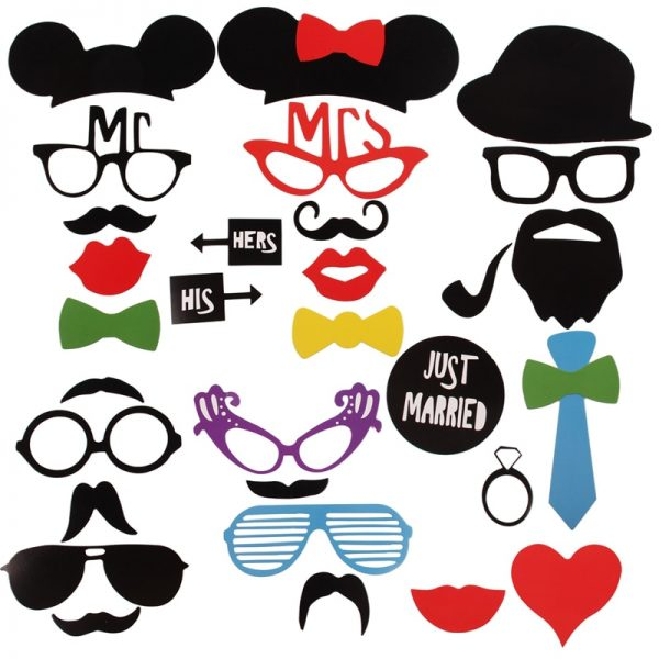 Photo Booth Props Party Photo Decor