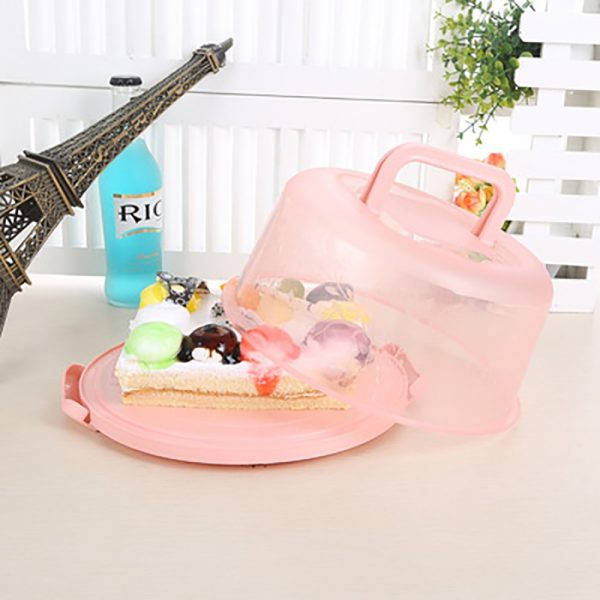 Plastic Cake Container with Handles 1