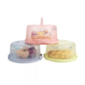 Plastic Cake Container with Handles