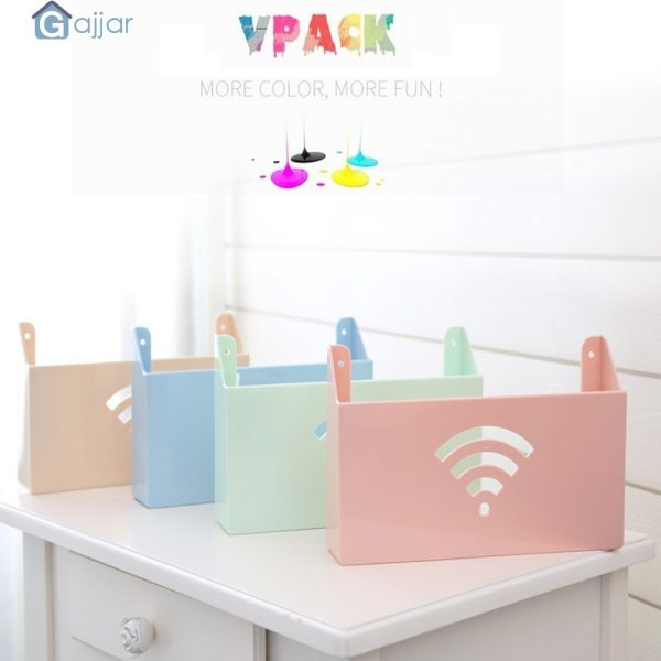 Plastic Storage for WiFi Router 1