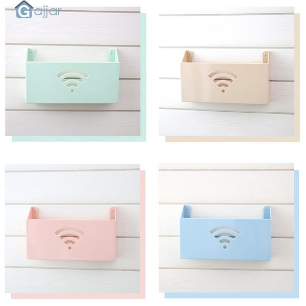 Plastic Storage for WiFi Router 2