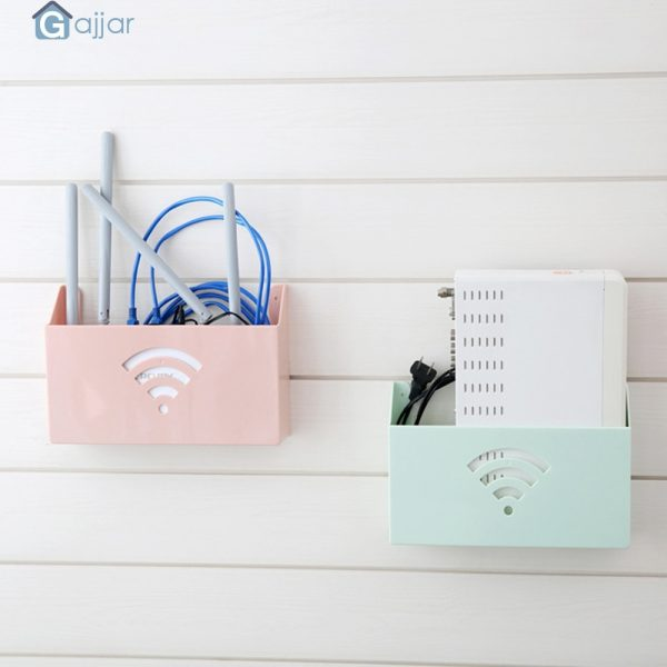 Plastic Storage for WiFi Router 3