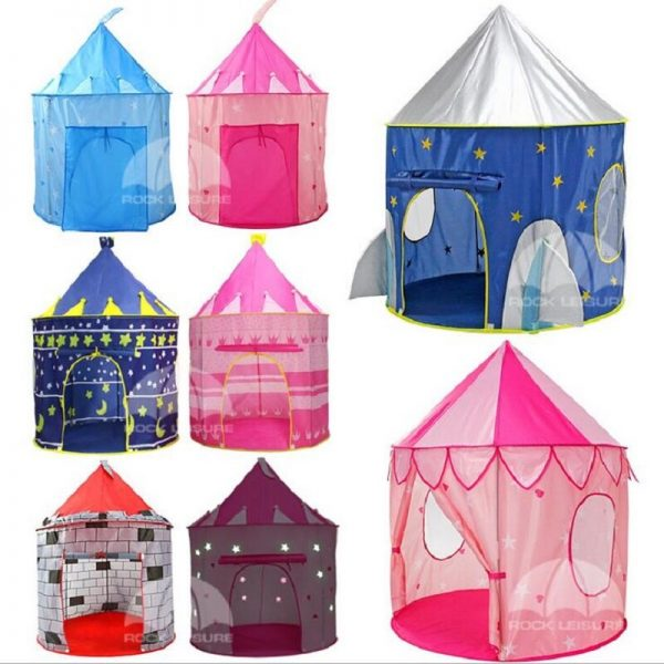 Playhouse Tent Kids Playing Castle 2