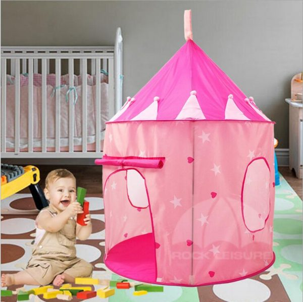 Playhouse Tent Kids Playing Castle 3