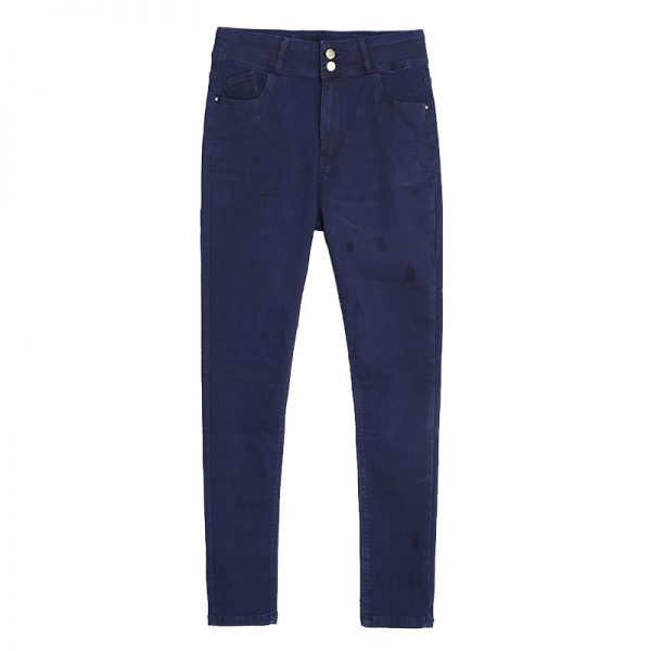 Plus Size High Waisted Jeans 4