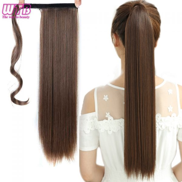 Pony Tail Hair Extension Synthetic Hair 1