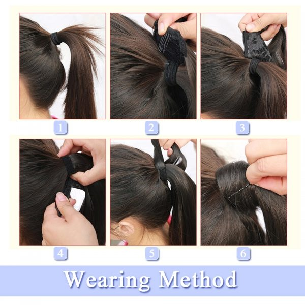Pony Tail Hair Extension Synthetic Hair 3