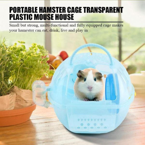 Portable Hamster House Carrying Cage