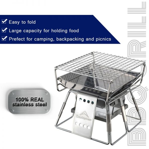 Portable Outdoor Grill Camping Tool 1