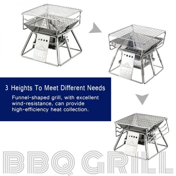 Portable Outdoor Grill Camping Tool 2