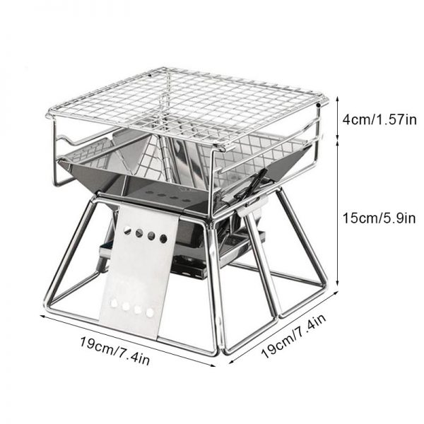 Portable Outdoor Grill Camping Tool