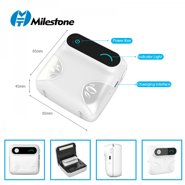 Portable Photo Printer with Paper 4