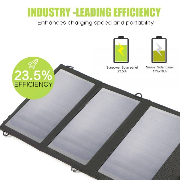 Portable Solar Panels Cellphone Charger 1