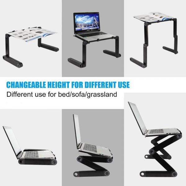 Portable and Adjustable Laptop Desk Stand 3