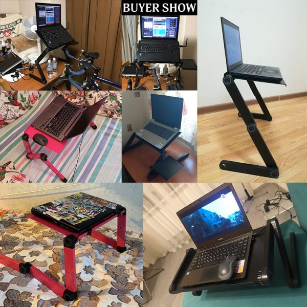 Portable and Adjustable Laptop Desk Stand 4