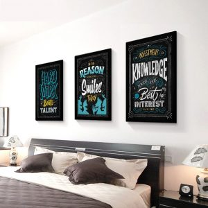 Quotes Poster Motivational Wall Decor