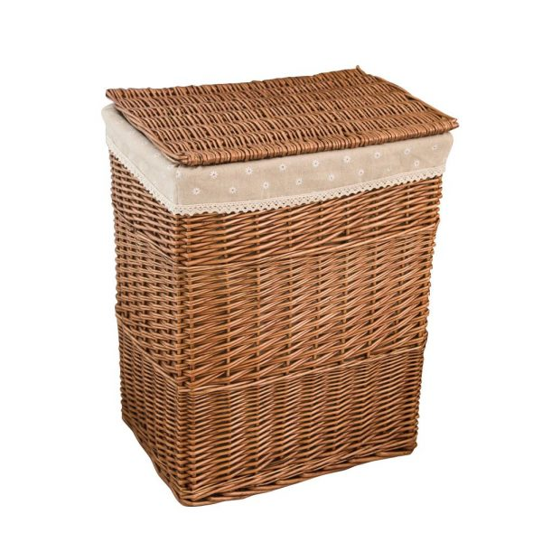 Rattan Laundry Basket with Lid 2