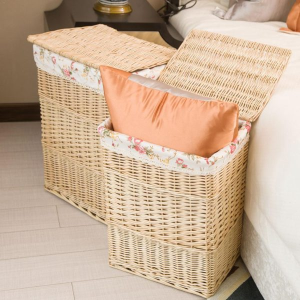 Rattan Laundry Basket with Lid 4