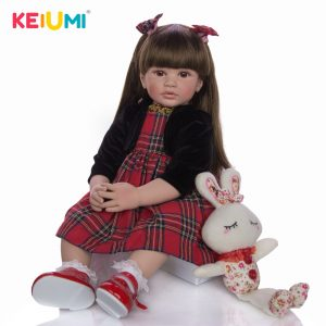 Reborn Silicone Baby Doll Realistic Toy