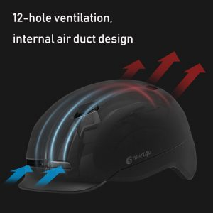 Rechargeable  Cycle Helmet with Light Lightweight Material