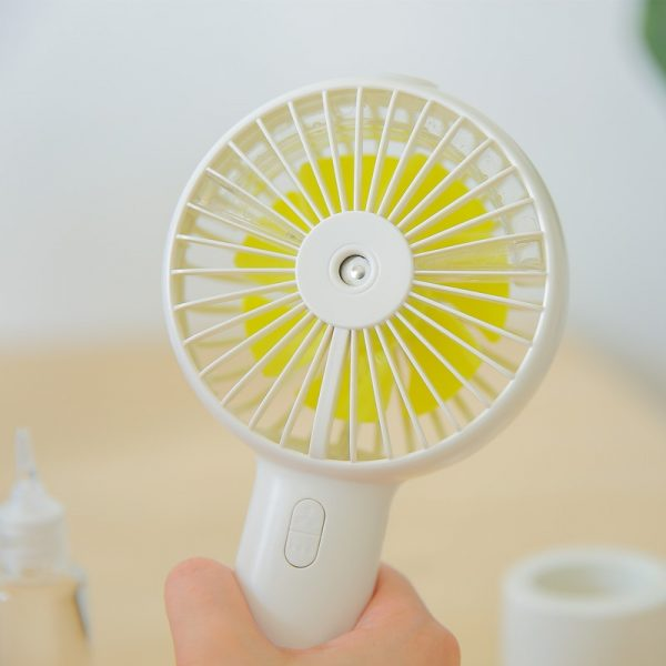 Rechargeable Handheld Misting Fan