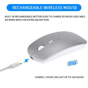 Rechargeable Wireless Mouse Bluetooth Device