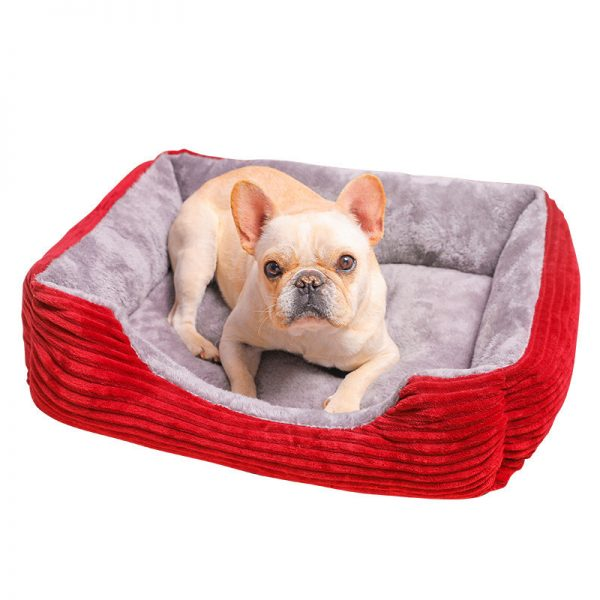 Rectangle Dog Cat Puppy Sofa Bed 3