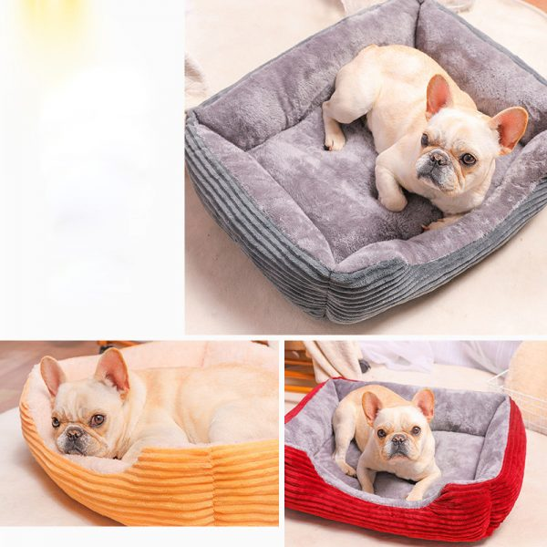Rectangle Dog Cat Puppy Sofa Bed 5