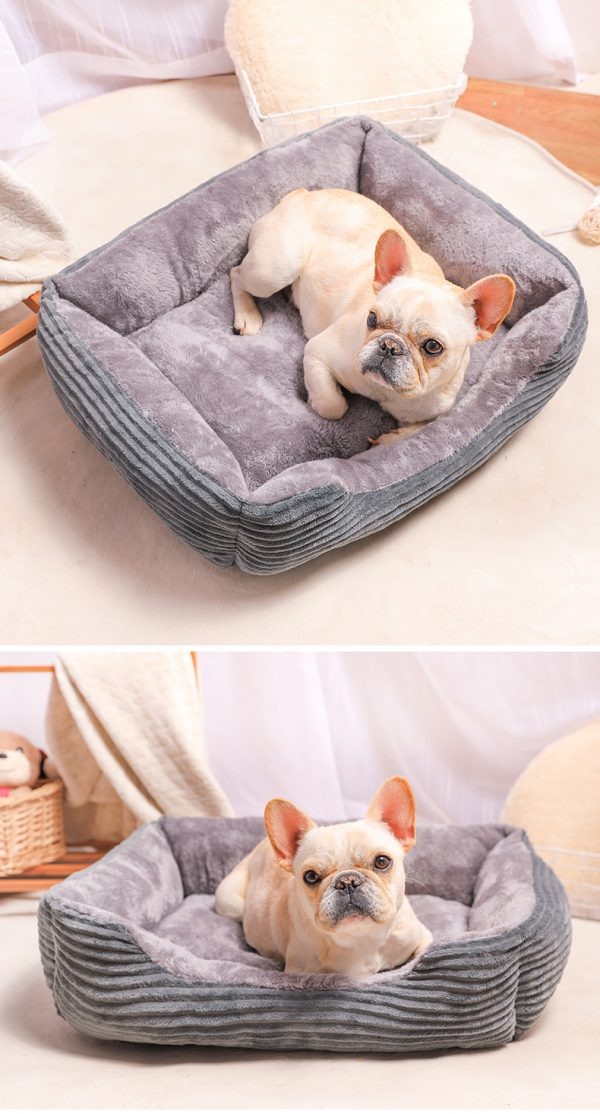 Rectangle Dog Cat Puppy Sofa Bed 8