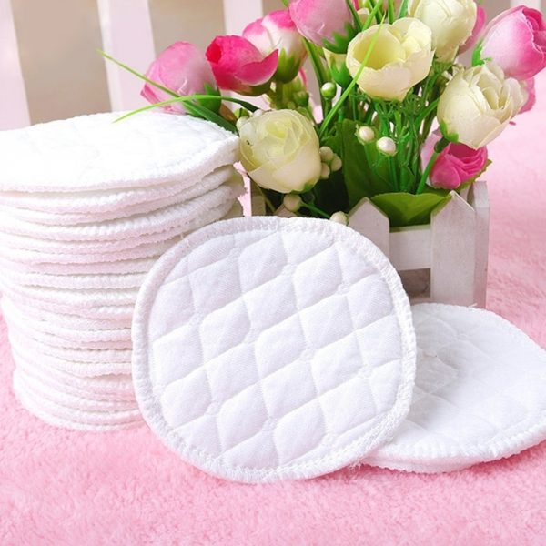 Reusable Breast Pads Absorbent Cotton 1