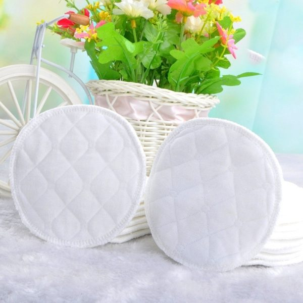 Reusable Breast Pads Absorbent Cotton 2
