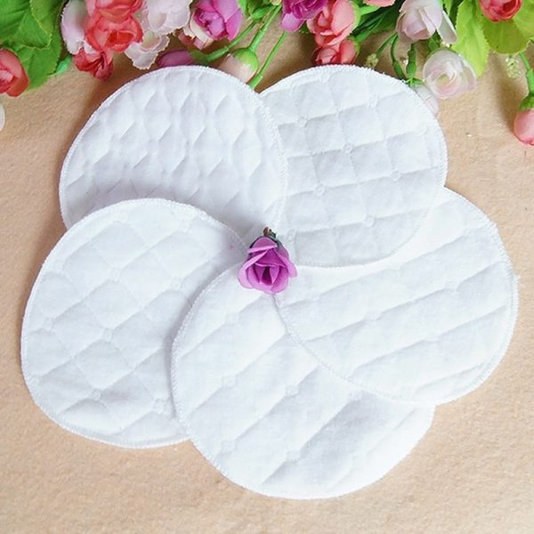 Reusable Breast Pads Absorbent Cotton 3