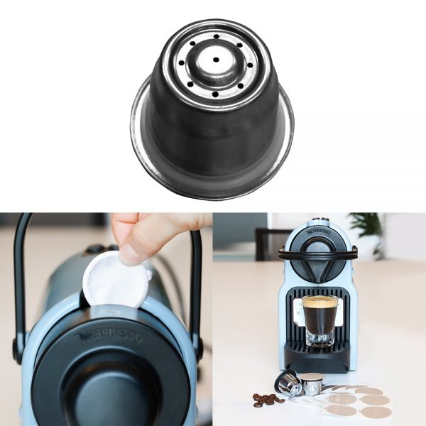 Reusable Coffee Capsule Stainless Steel Pod 1