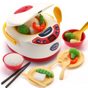 Rice Cooker Children Simulation Play More Active Learning Toys