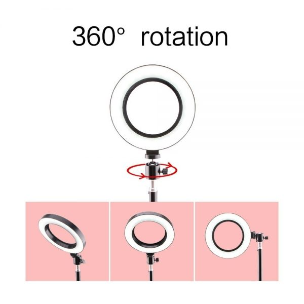 Ring Light Phone Holder with Tripod Stand 2