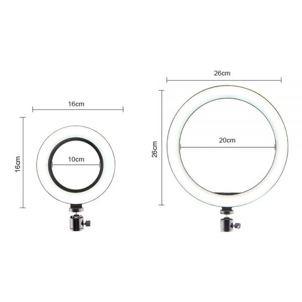 Ring Light Phone Holder with Tripod Stand 3