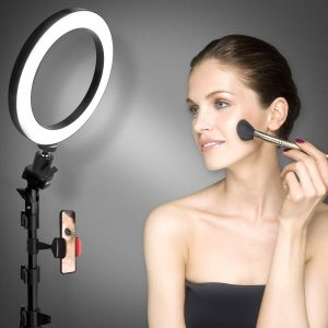 Ring Light Phone Holder with Tripod Stand