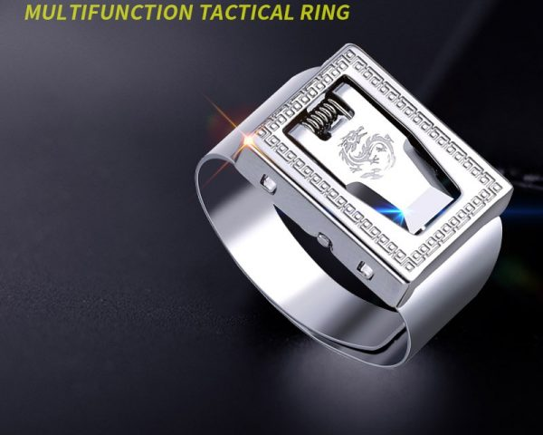 Ring With Hidden Blade