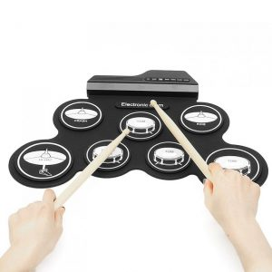 Roll Up Drum Kit Electric Instrument Pad