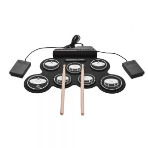 Roll-Up Drum Kit Electronic Drum Pad
