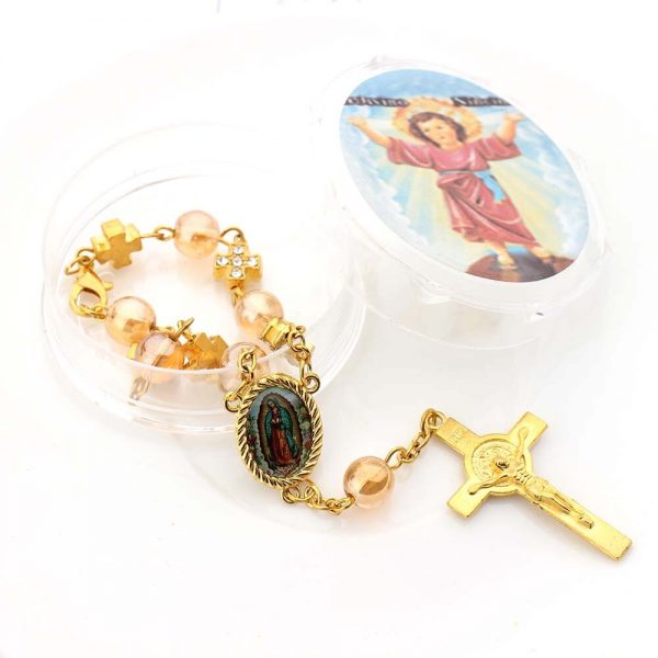 Rosary Bracelet Christening Giveaways 10 pieces 1