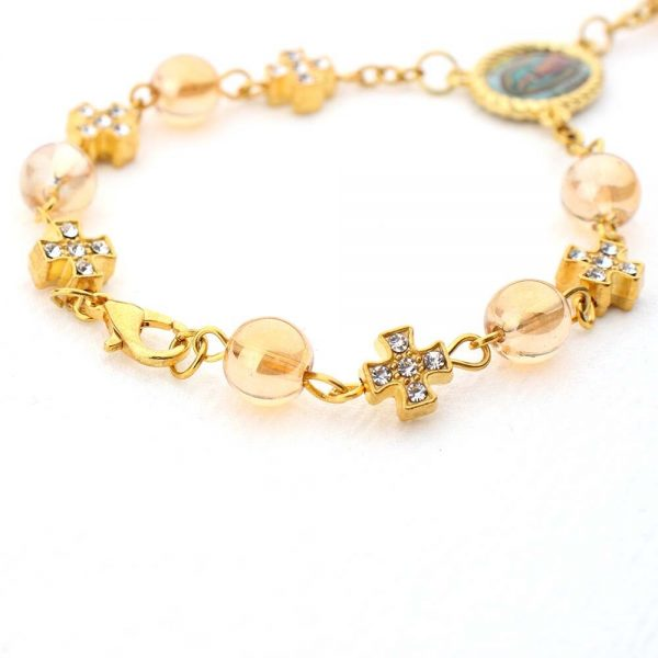 Rosary Bracelet Christening Giveaways 10 pieces 2