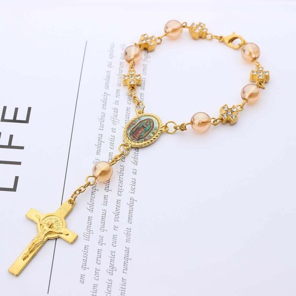 Rosary Bracelet Christening Giveaways (10 pieces)