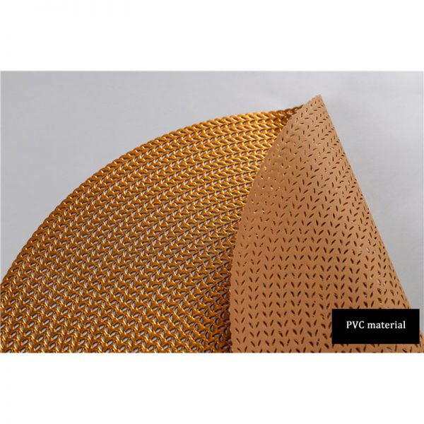 Round Placemats PVC Table Mats 3