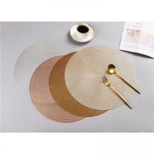 Round Placemats PVC Table Mats