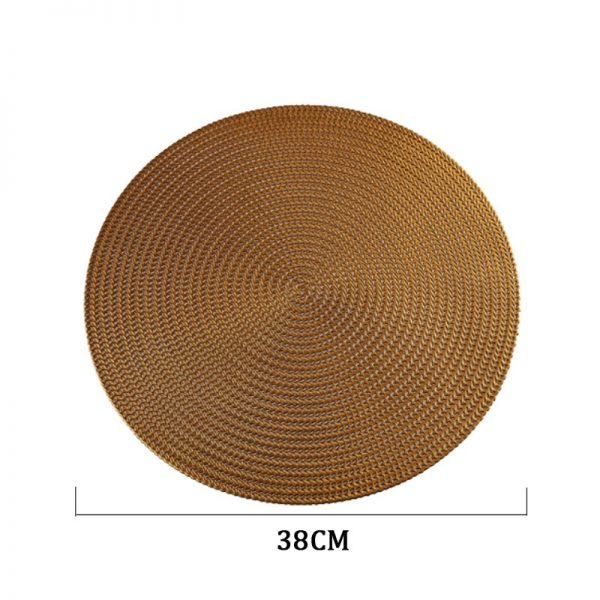 Round Placemats PVC Table Mats 4