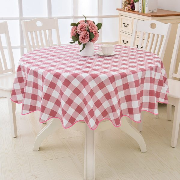Round Tablecloth Waterproof Cover 3