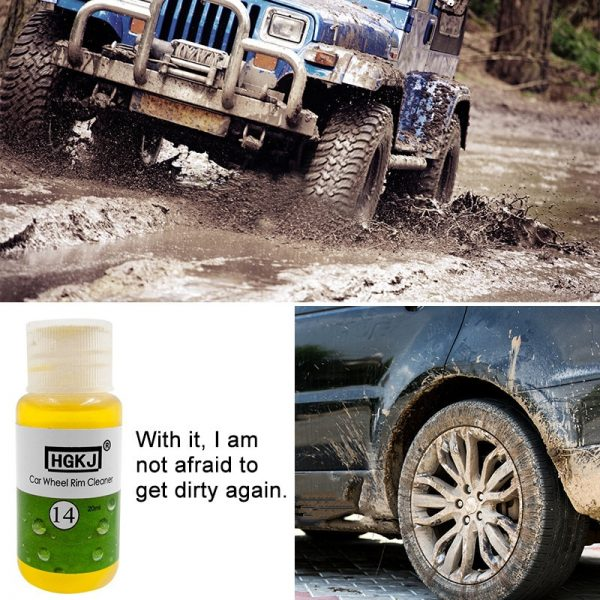 Rust Cleaner Car Wheel Stain Remover 1